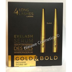 Wimperserum Long4Lashes Gold - 2x 4 ml - DUO PAK!!!